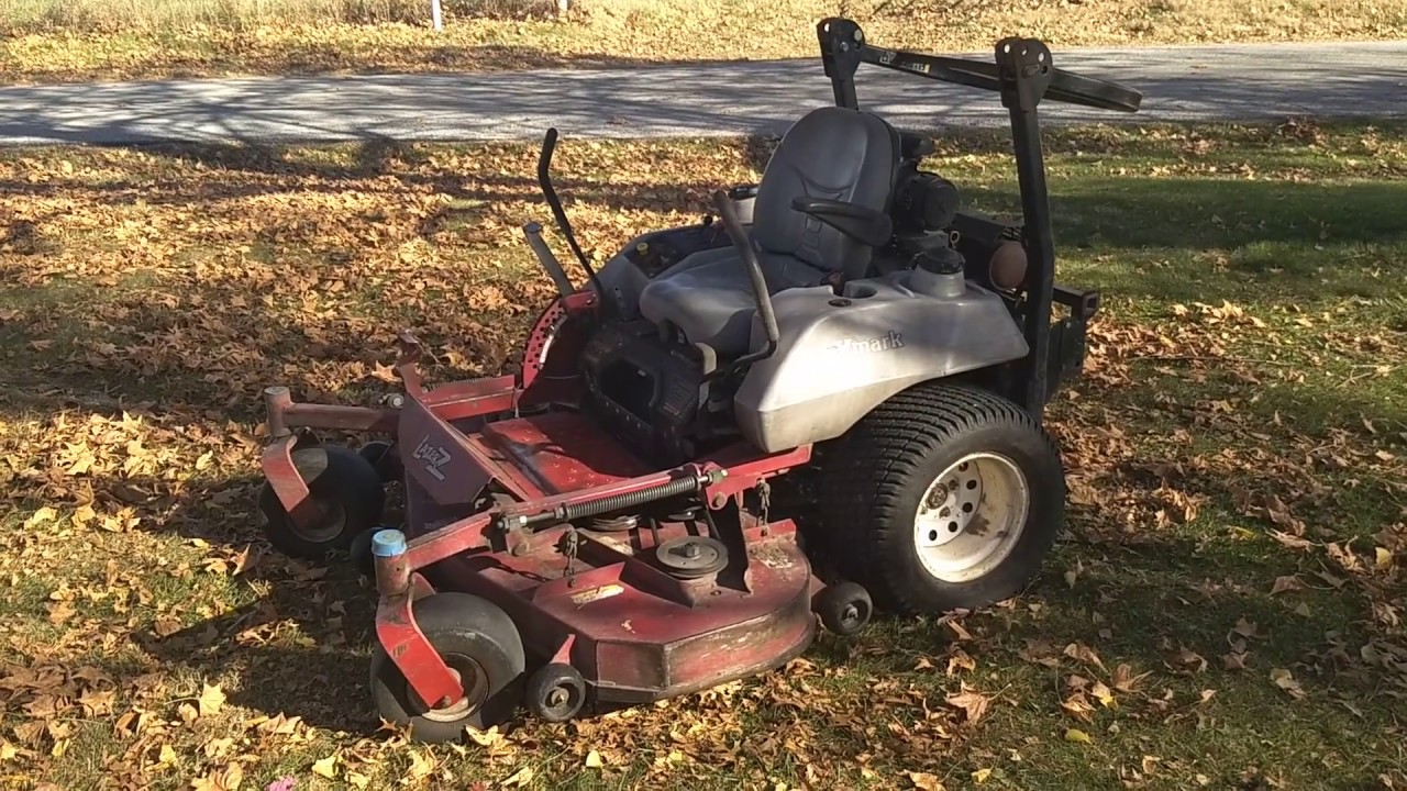 for sale 2005 exmark lazer z with a 60 deck and 27 horsepower kohler command pro [ 1280 x 720 Pixel ]