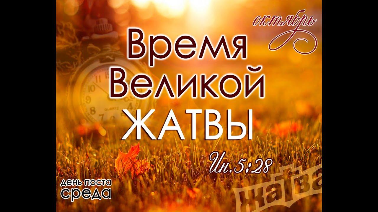 День, жатва картинки библейские