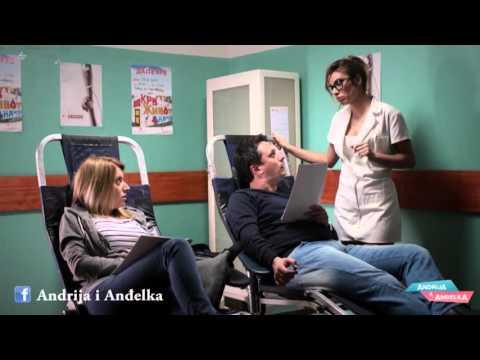 Andrija i Andjelka - Medicinska sestra Tadić i malenica Andja
