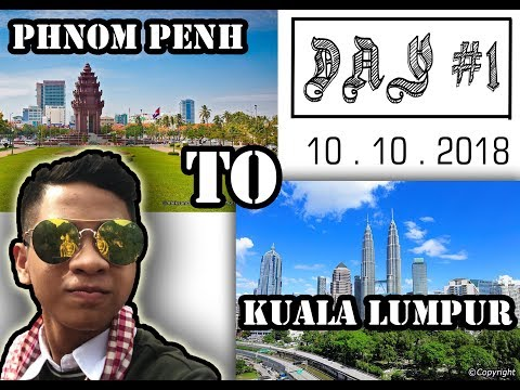 My First Time To Travel 🧳 By Plane ✈️  From 🇰🇭 Cambodia To Malaysia 🇲🇾 ( VLOG #1 )