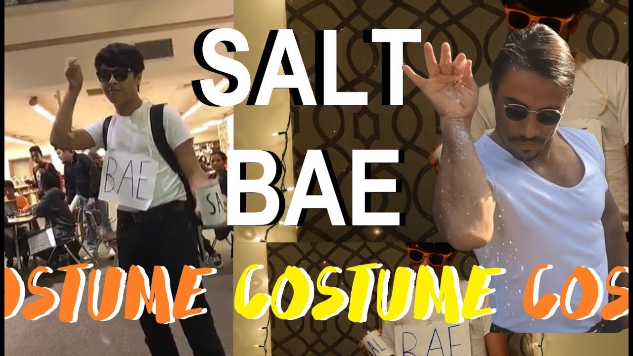 diy salt bae halloween costume 2017 l memes - youtube