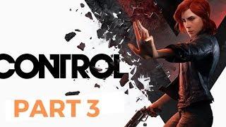 CONTROL Walkthrough Gameplay Part 3 Directorial override