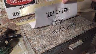 Jak wykonać transfer wydruku na drewno / Transfer prints to wood