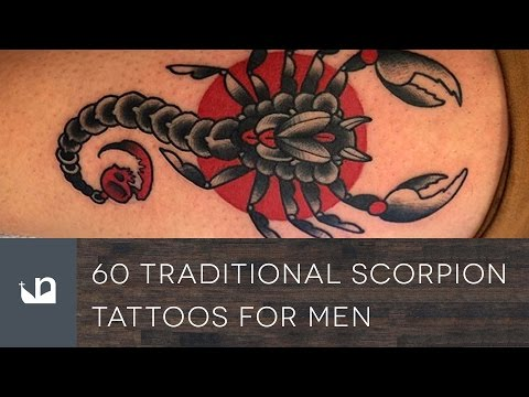 60 Traditional Scorpion Tattoos For Men
