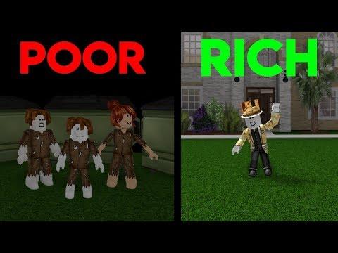 Poor To Rich | Roblox A Sad Bloxburg Movie