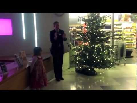 St George's Hospital Christmas Tree Lights 2012