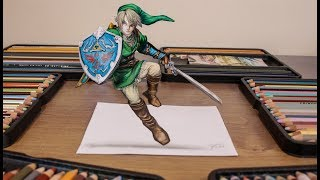 3D DRAWING: LINK ( The Legend Of Zelda )