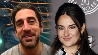 Aaron Rodgers and Shailene Woodley are ENGAGED
