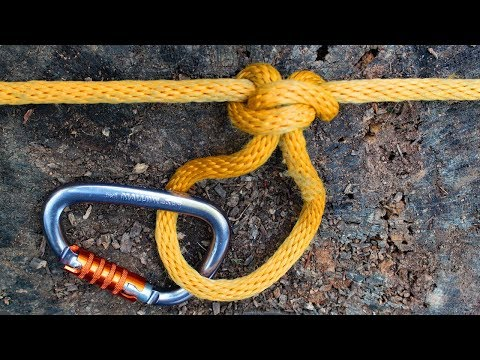 Most Useful Knot - How to Tie Alpine Butterfly Knot Loop & Bend  3 methods