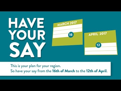 Your Region | Your Plan | Your Say