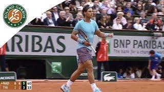 Rafael Nadal v Dominic Thiem Highlights - Men's Round 2 2014 - Roland Garros
