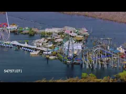 Jazzland/Six Flags New Orleans Park Flooded 1/5