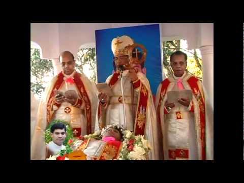 Mananthavady Norbertines- Fr. Joby- Funeral- Part 2.avi