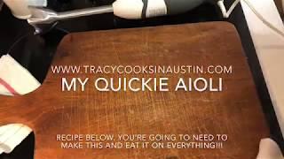 How To Make Aioli (EASY!)