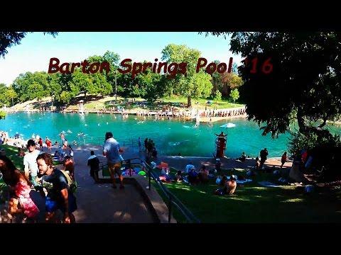 Barton Springs Pool '16 ATX
