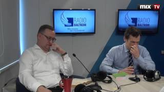 Адвокаты Виктор Тихонов и Янис Зелменис в программе