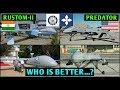 Rustom 2 vs Predator drone Comparison,Drdo Rustom 2 vs US MQ 1 Predator (Hindi) Indian Defence News Mp3