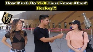 How Much Do VGK Fans Know About Hockey?