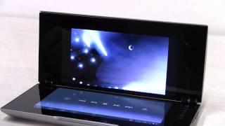 Видеообзор планшета Sony Tablet P(Sony Tablet P - очень необычный планшет, особенно он придется по душе любителям многофункциональных устройств,..., 2012-02-01T14:07:13.000Z)