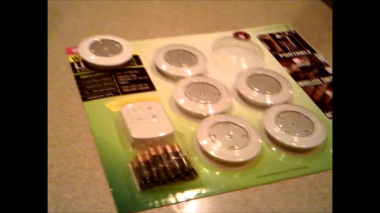 Costco LED Puck Lights Unboxing Review Installation Guide 2012 HD Commentary