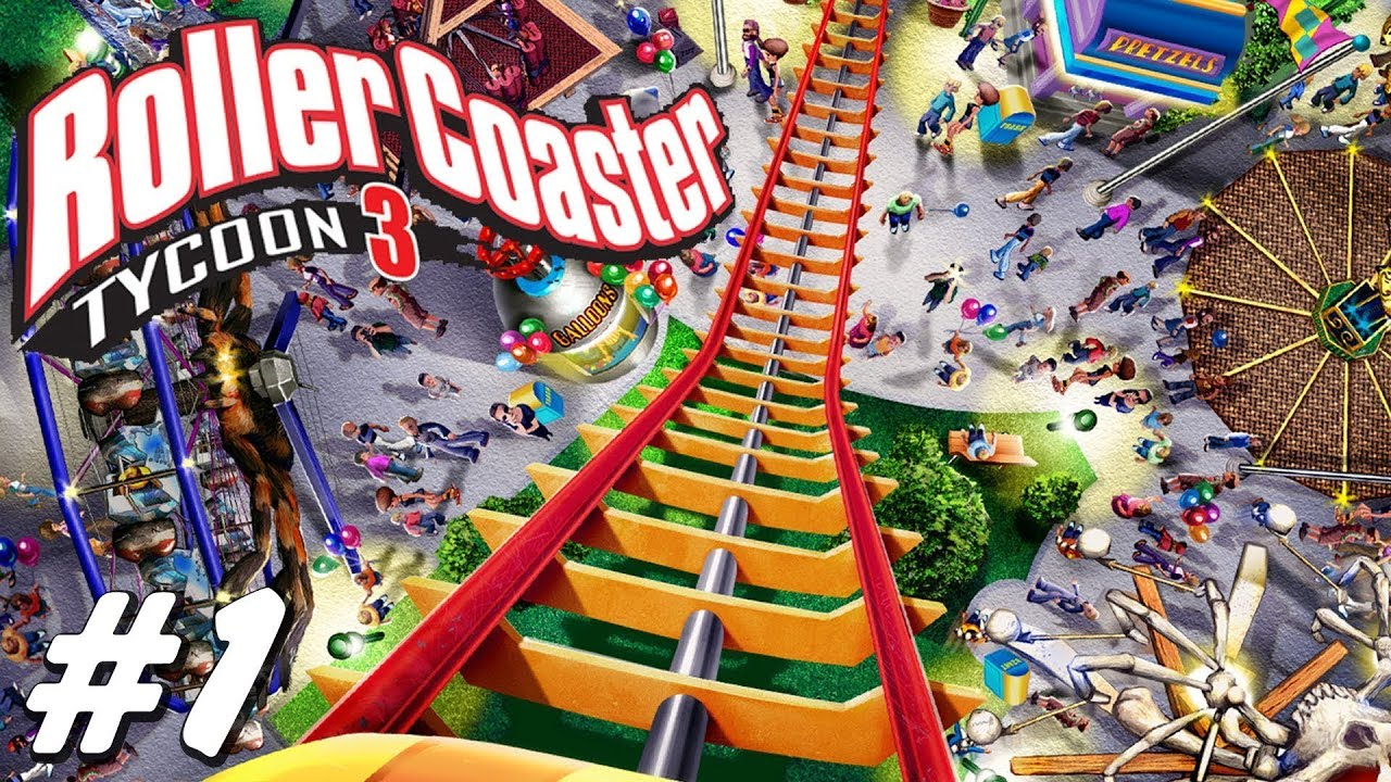 roller coaster tycoon 3 android app