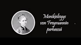 Monikielisyys von Freymannin perheessä - Historia - Backbyn Kartano Espoossa