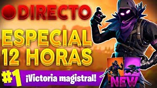 🔴 SPECIAL DIRECT 12 HOURS #3 - +280 VICTORIAS! NEW SKIN - FORTNITE Battle Royale