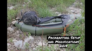 Packrafting Setup and Modifications 2018 by Epic Trips