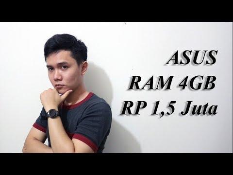Asus RAM 4GB Cuma Rp1,5 Juta