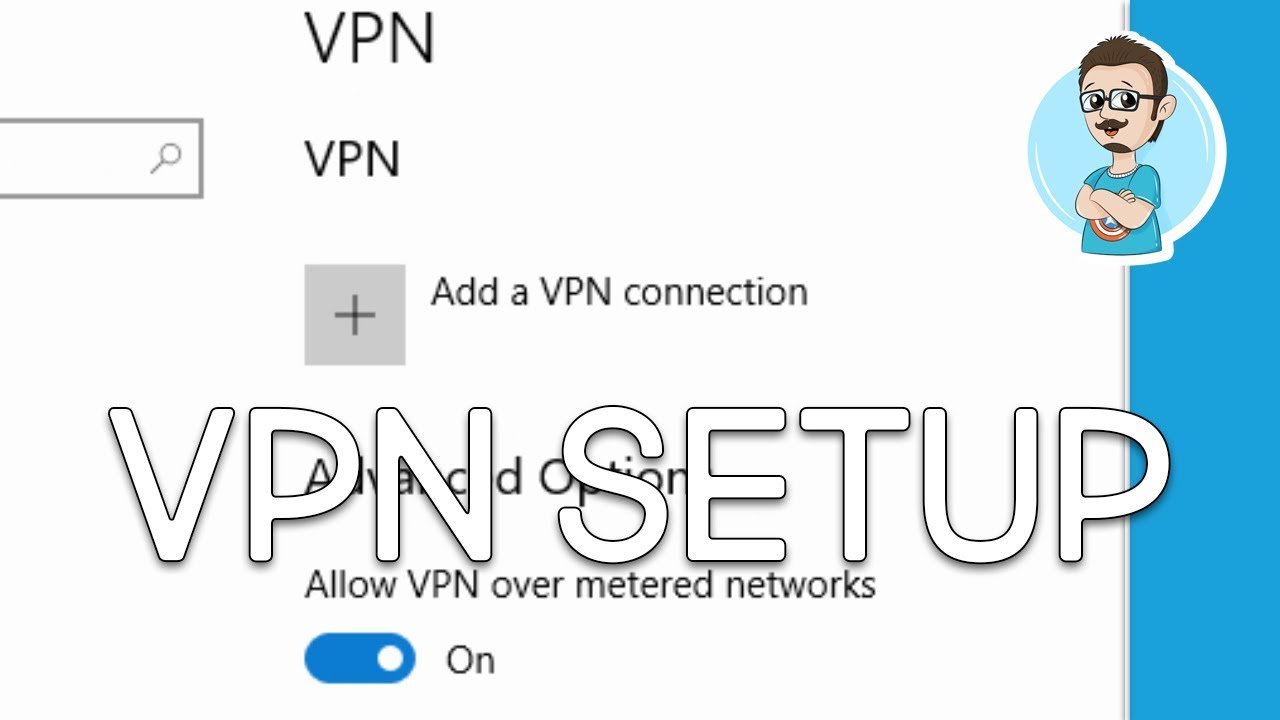 Windows 10 | VPN Connection Setup! (How To)