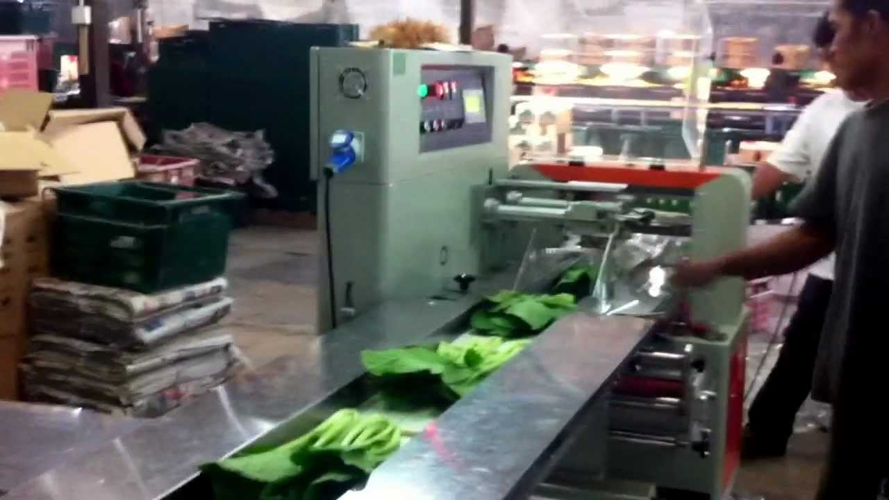 vegetable packing machine
