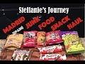 Madrid (Spain) Junk Food Snack Haul || Steffanie's Journey