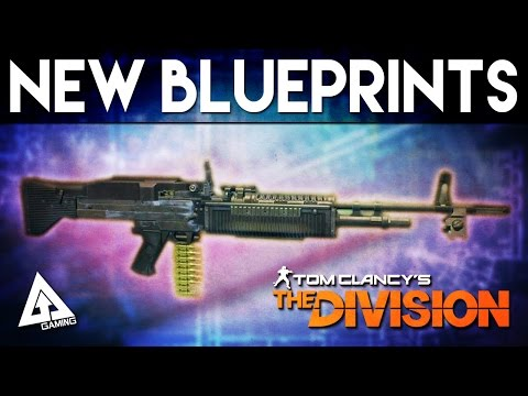 The Division New Blueprints - Black Market M60 & Tactical ACR | Weekly Reset April 30th