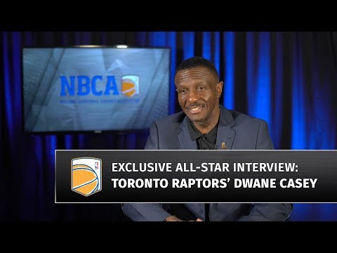 Raptors Head Coach Dwane Casey at 2018 All-Star Weekend