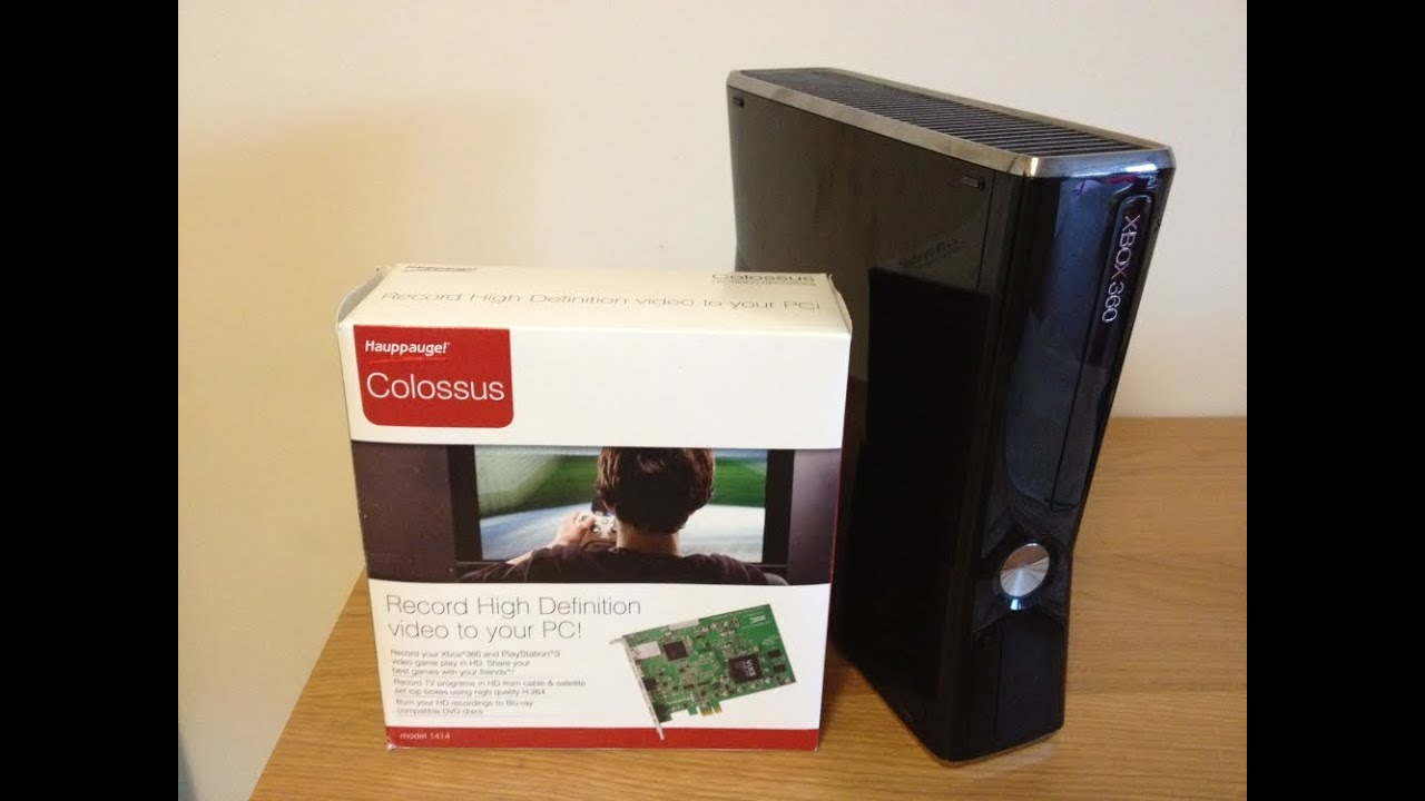Hauppauge Colossus Capture Card Set Up with Xbox 360 HDMI by CazuaLLUK