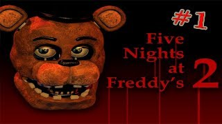 Мишка Фредди 2: 1 Ночь
