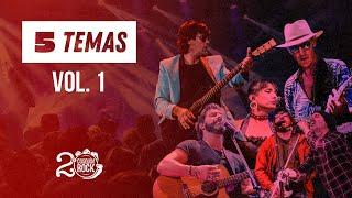 COSQUIN ROCK   5 Temas - LIZARAZU + LA VELA + CABALLEROS DE LA QUEMA  + CIRO Y LOS PERSAS + SKAY