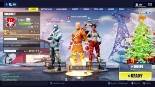 Fortnite New SugarPlum Skin [LIVE] GIVEAWAY AT 300 Subs