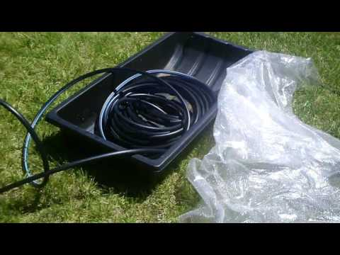 Solar Hot Tub Heater and Off Grid Water Heating