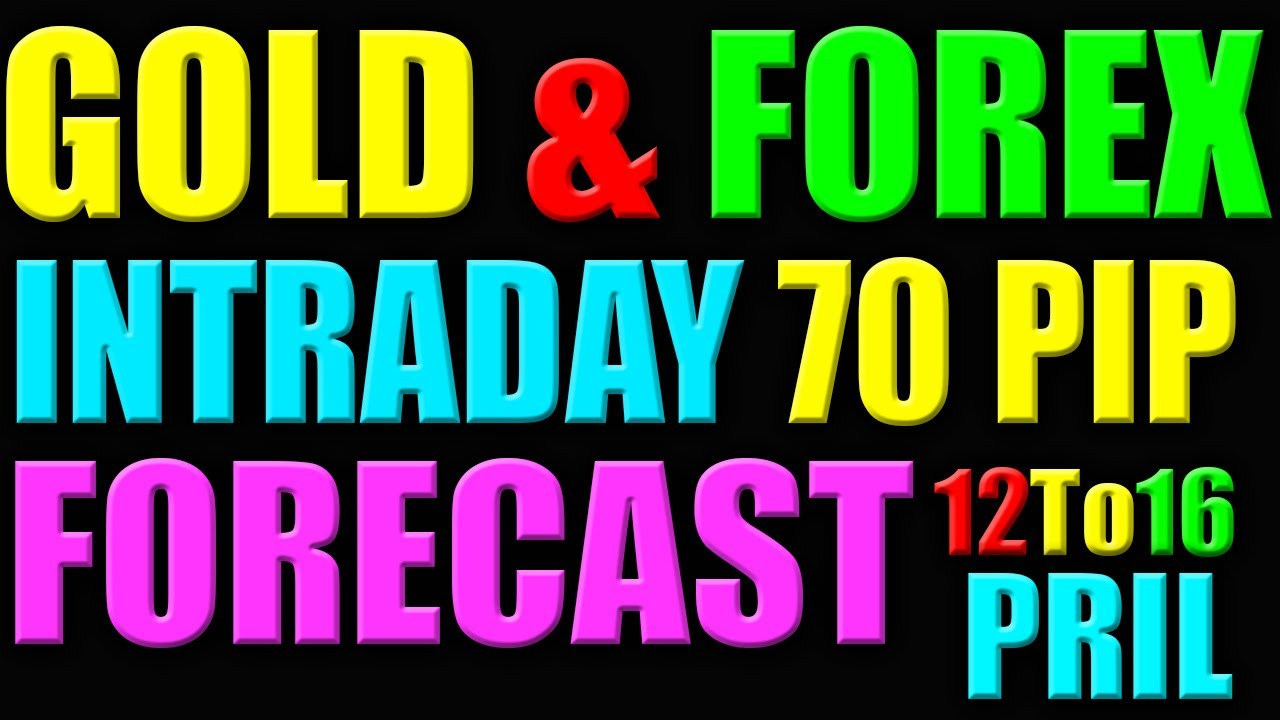 GOLD XAUUSD & FOREX  INTRADAY WINNING FORECAST 12 TO 16 APRIL