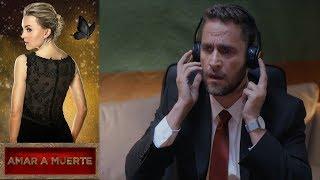 Jacobo descubre que Johny y Lucía lo mandaron matar | Amar a Muerte | Televisa