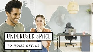 Home Office Makeover | Condo Dining Room To Minimal Office
