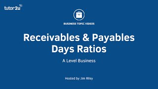 Financial Ratios - Receivables and Payables Days