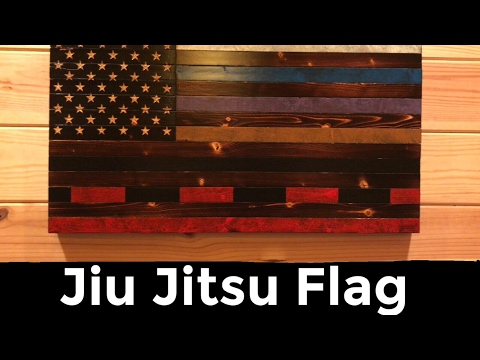 Rustic Jiu Jitsu Flag