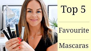 Clean Beauty // Top 5 Clean Mascaras