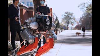 Machine learning breakthrough: Robot runs a 5k