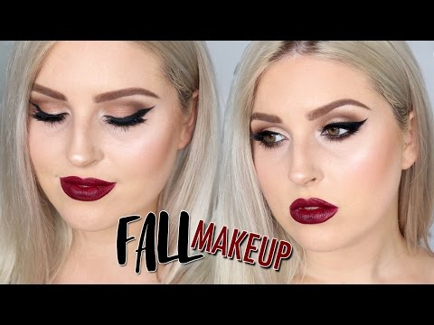 This Stunning Fall Makeup Tutorial Will Inspire You to Break Out Your Vampiest Lipsticks