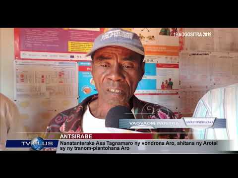 VAOVAOM PARITRA DU 19 AOUT 2019 BY TV PLUS MADAGASCAR