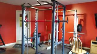 Inspire smith rack assembly & gym room