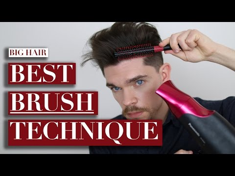 How To Use A Round Brush For Big Hair